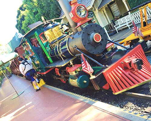 Educational Disneyland Vacation Disneyland Railroad
