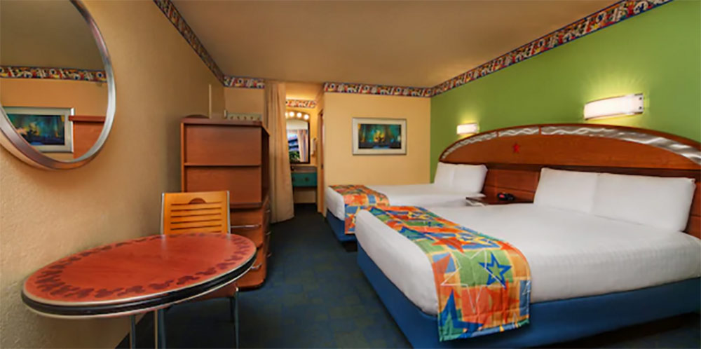 Disneys All Star Music Resort 2 Queen Room