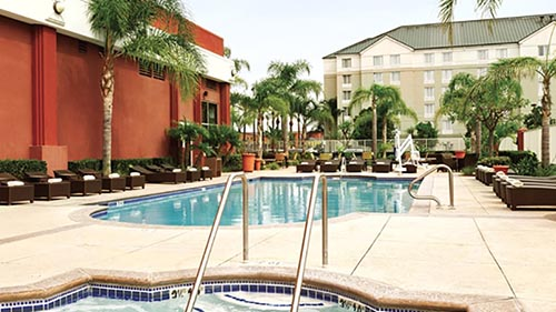 Embassy Suites Anaheim South Review Pool