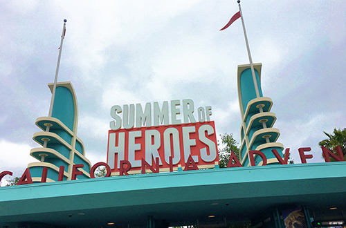 Extra Extra Magic Hour for Disneyland Resort Hotel Guests Summer of Heroes