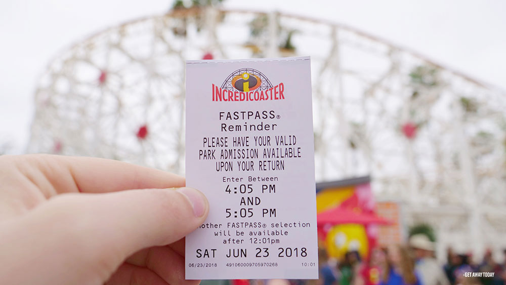 Disneyland Fastpass Tips Incredicoaster