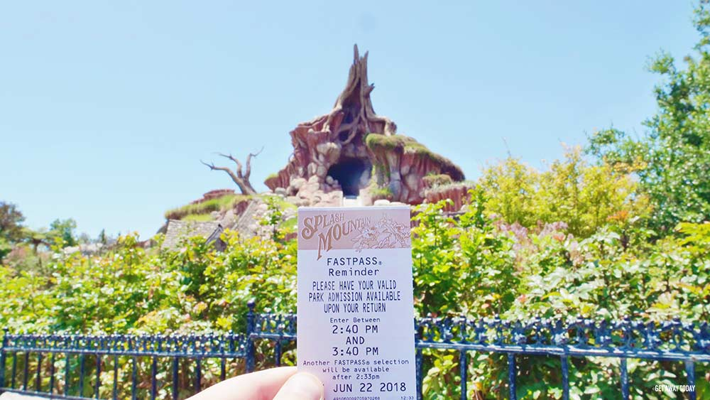 Disneyland Fastpass Tips Splash Mountain