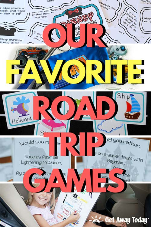 Our Favorite Road Trip Games for Your Family Vacation || Get Away Today