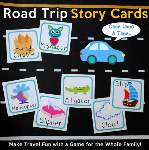 Favorite Road Trip Games Story Cards