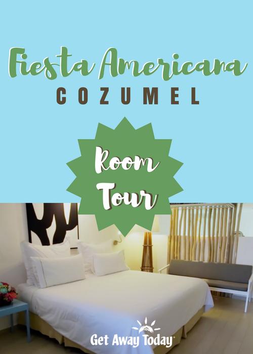 Fiesta Americana Cozumel Room Tour