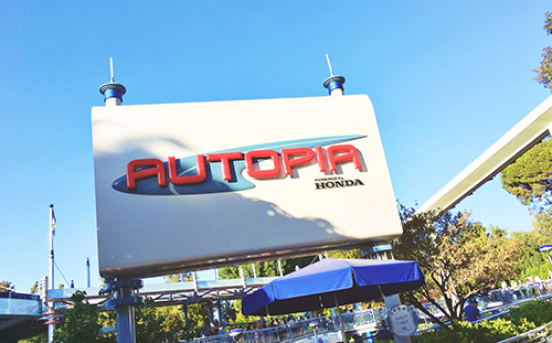 Free Things at Disneyland Autopia Drivers License