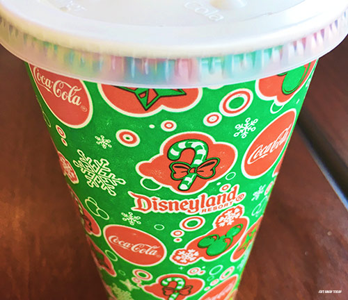 Free Things at Disneyland Water Cups