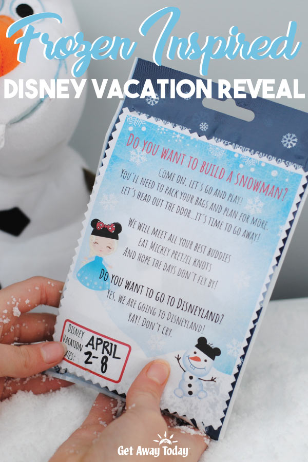 Frozen Inspired Disney Vacation Reveal || Get Away Today