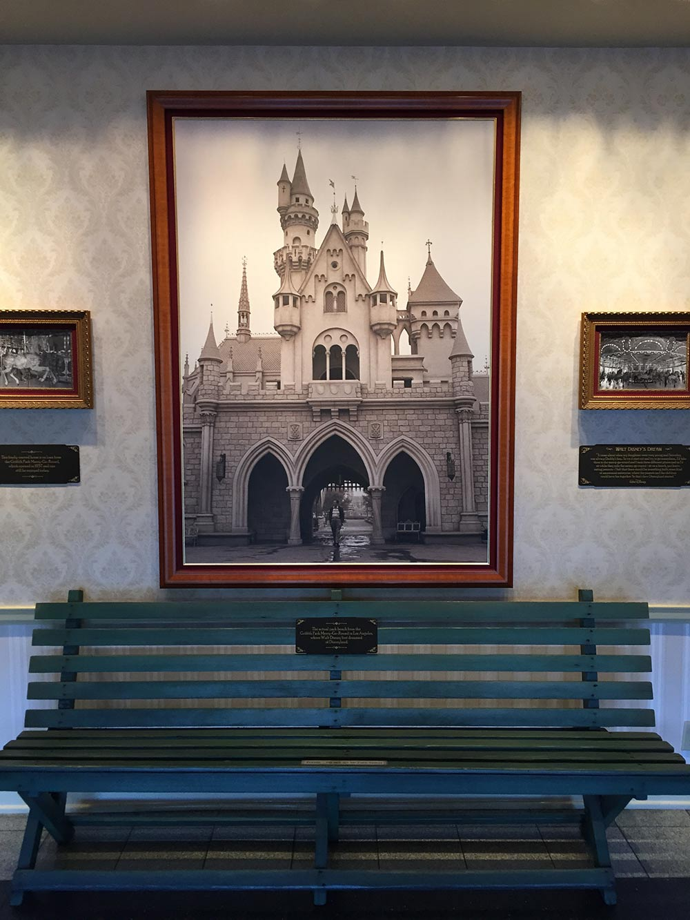 Fun Facts about Walt Disney Bench