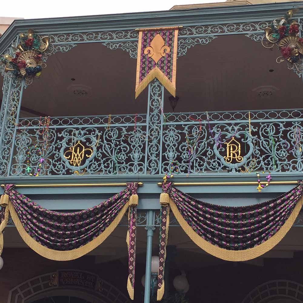 Fun Facts about Walt Disney Balcony
