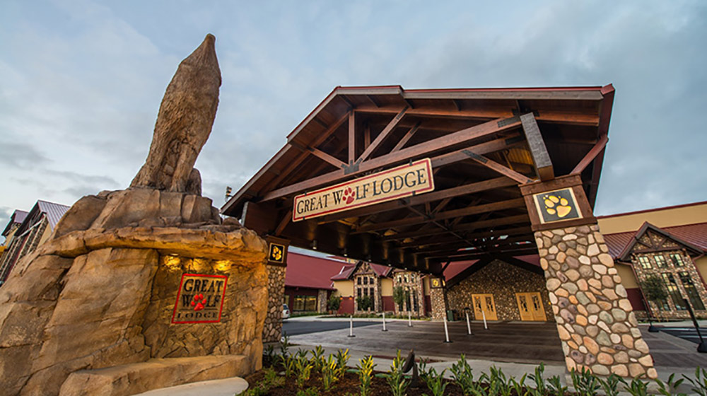 Great Wolf Lodge Anaheim Review Exterior