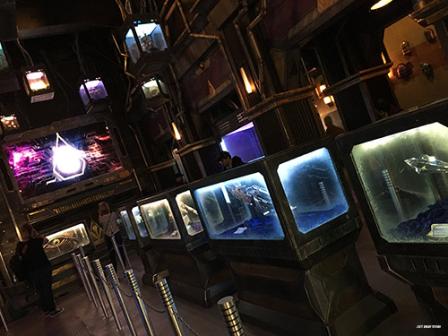 Guardians of the Galaxy Mission Breakout Line