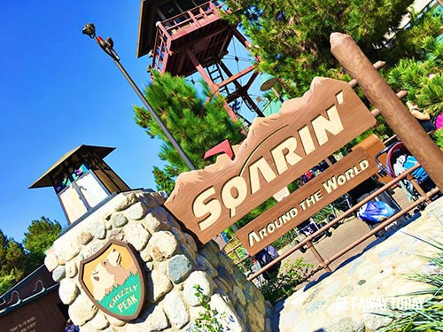 Guide to Disneyland 2017 Soarin' Around the World