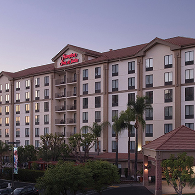 Hampton Inn Anaheim Review