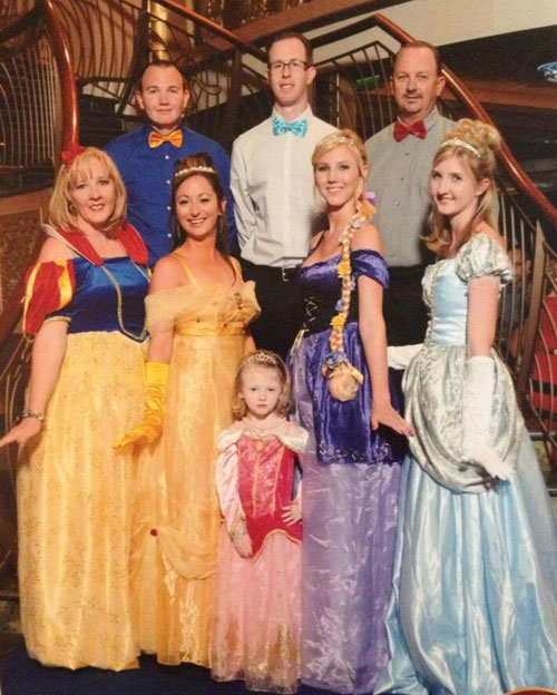 The Best Dressed Guests On The Disney Fantasy