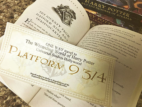 photo about Hogwarts Express Ticket Printable identified as Absolutely free Harry Potter Holiday Announcement Printable