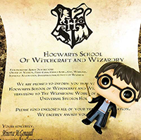 Free Harry Potter Vacation Announcement Printable