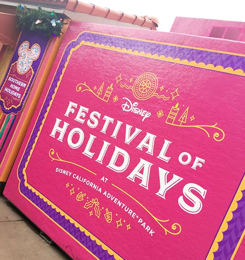 Holidays at Disneyland Festival of Holidays