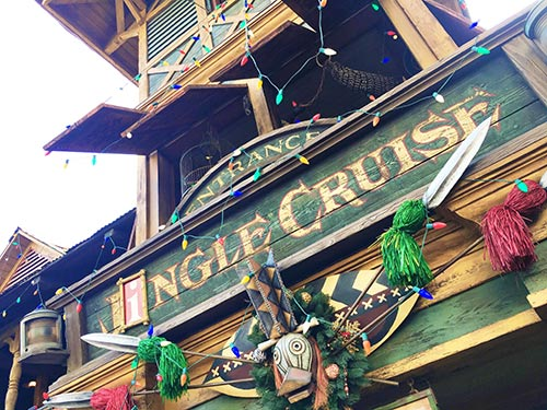 Holidays at Disneyland 2017 Jingle Cruise