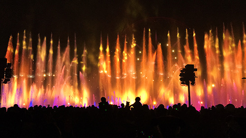 Holidays at Disneyland World of Color