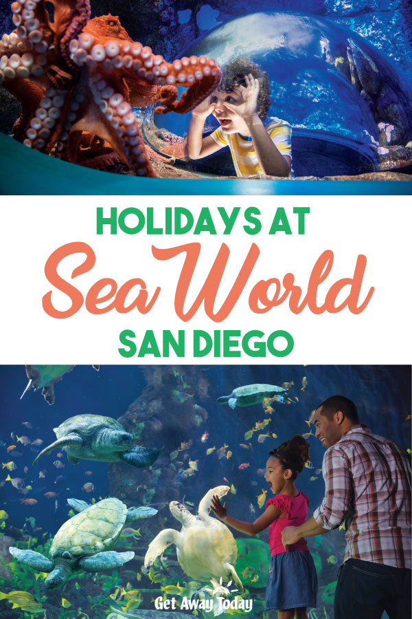 Holidays at SeaWorld San Diego || Get Away Today