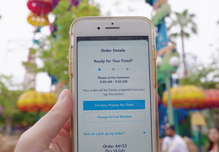 How to Use Mobile Ordering at Disneyland