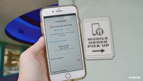 How to Use Mobile Ordering at Disneyland Pick up