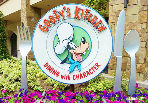If you don't have Mickey's Halloween Party tickets, visit Goofy's Kitchen