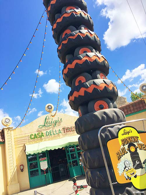 If you don't have Mickey's Halloween Party tickets, ride Luigi's Honkin' Haul-o-ween