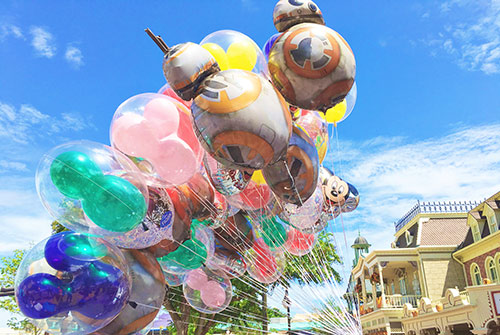 Disney World Magic Kingdom Balloons