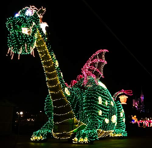 Main Street Electrical Parade Dragon