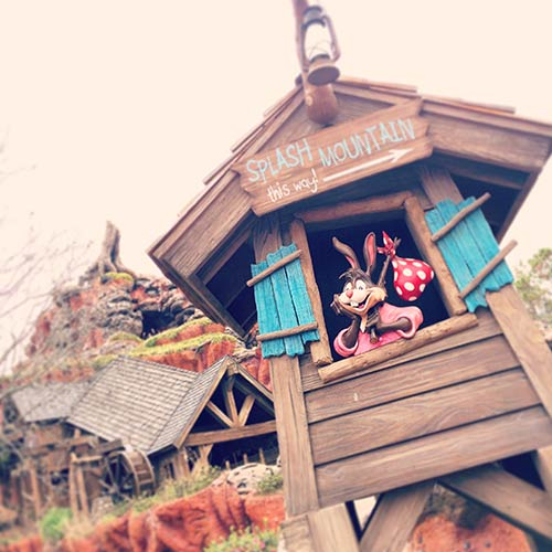 Surviving Disney World with Toddlers and Babies Splash Mountain