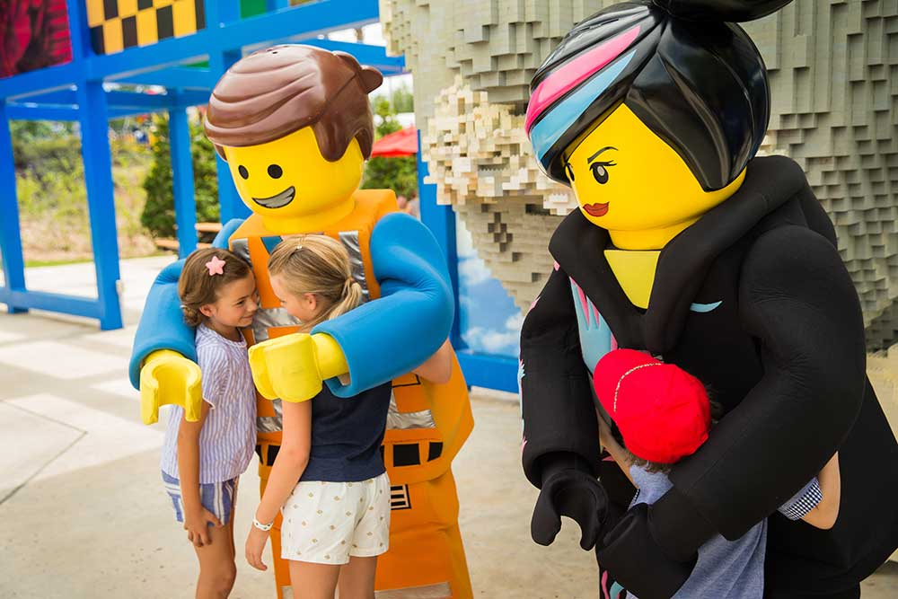 Kids Free October - Legoland Characters