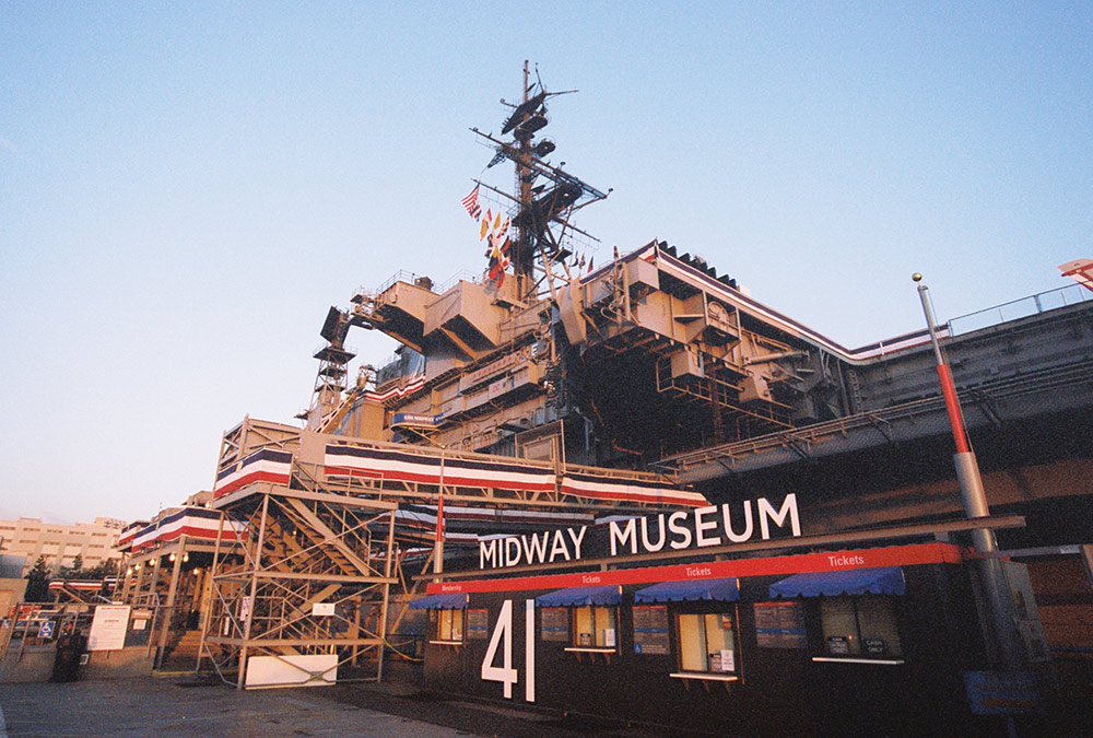 Kids Free October - USS Midway Museum Ticket Booth