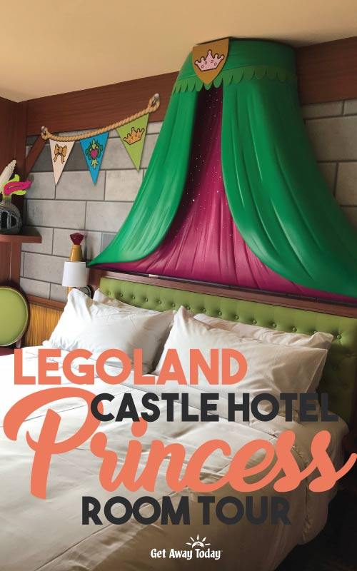 Legoland Castle Hotel Princess Room Tour || Get Away Today