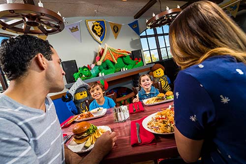 Legoland Castle Hotel Review Dining