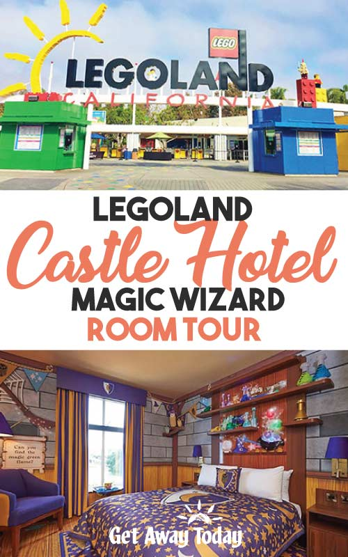 Legoland Castle Hotel Magic Wizard Room Tour || Get Away Today
