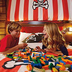 Legoland Hotel Pirate Room Tour