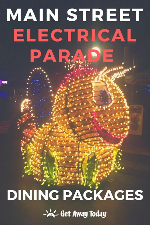 Main Street Electrical Parade Dining Packages
