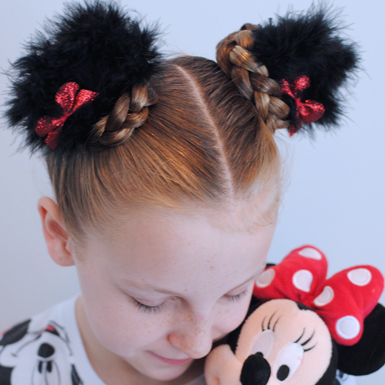 Make Your Own Minnie Clips