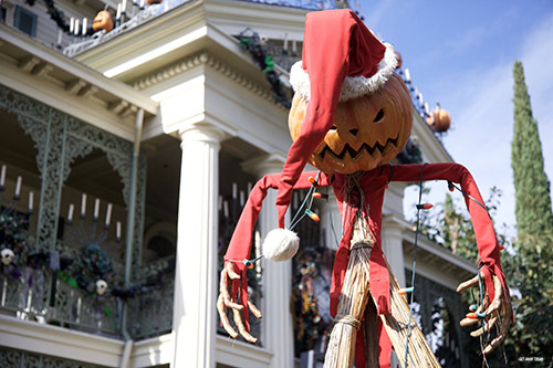 Maxpass During Holidays at the Disneyland Resort Haunted Mansion Holiday