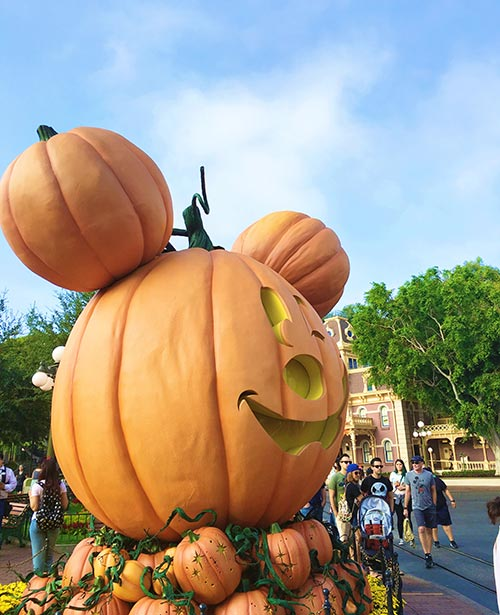 Mickey's Halloween Party 2017 Pumpkin