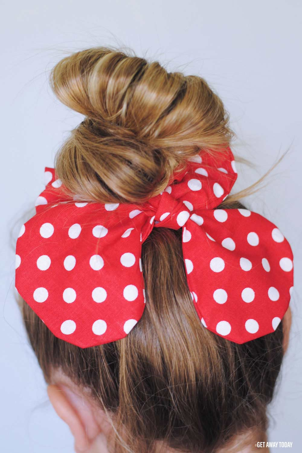 Minnie Mouse Scrunchie Low