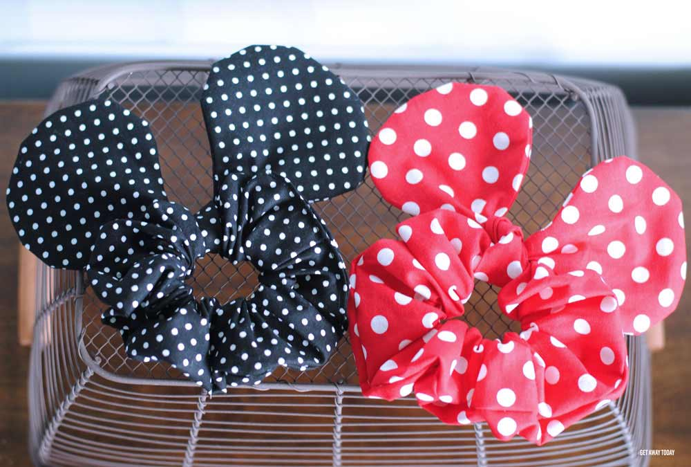 Minnie Mouse Scrunchie Two