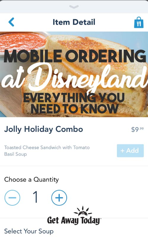 Mobile Ordering at Disneyland: Everything You Need to Know || Get Away Today