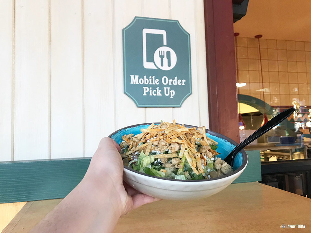 Mobile Ordering at Disneyland Quick Service Pick Up