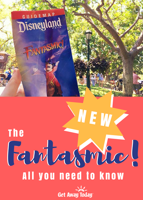 New Fantasmic at Disneyland Pin || Get Away Today