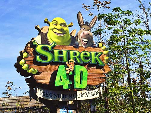 New at Universal Studios Hollywood 2017 Shrek