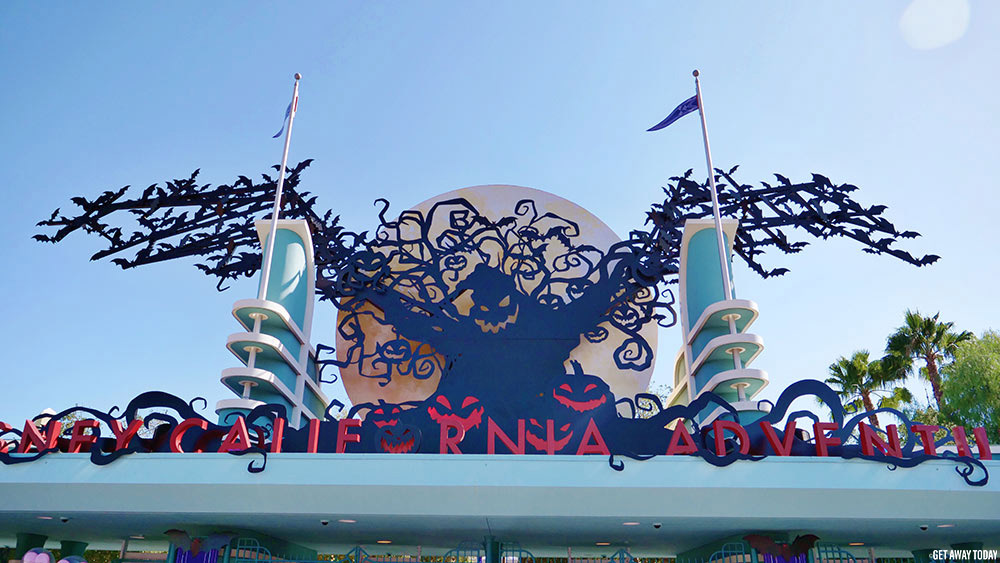Oogie Boogie Bash Entrance