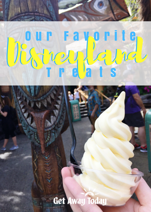 Favorite Disneyland Treats Pin | Get Away Today